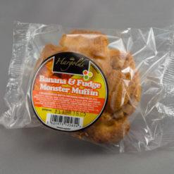Banana Fudge Monster Muffins
