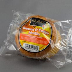 Banana Fudge Muffins