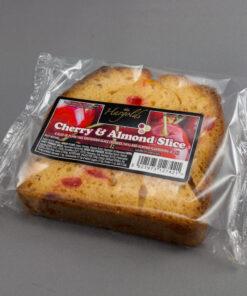 Cherry & Almond Cake Slices