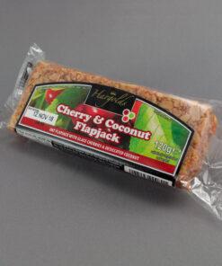 Cherry & Coconut Flapjacks