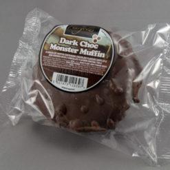Dark Chocolate Coated Monster Muffins