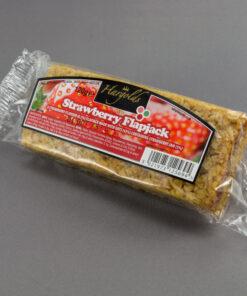 Strawberry Flapjacks