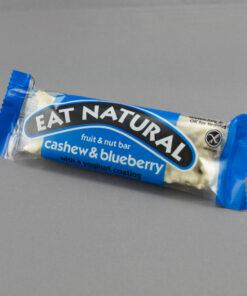 Cashew, Blueberry & Yoghurt Coated Eat Natural Bars